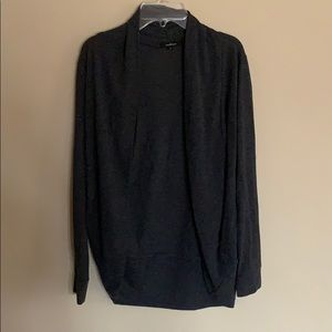 EUC classic gray cardigan size S